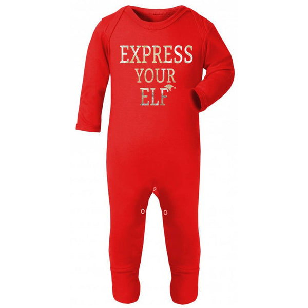 Express Your Elf Christmas Rompersuit - Instajunction