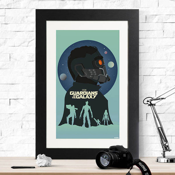 Guardians Of The Galaxy Silhouette Print - Instajunction