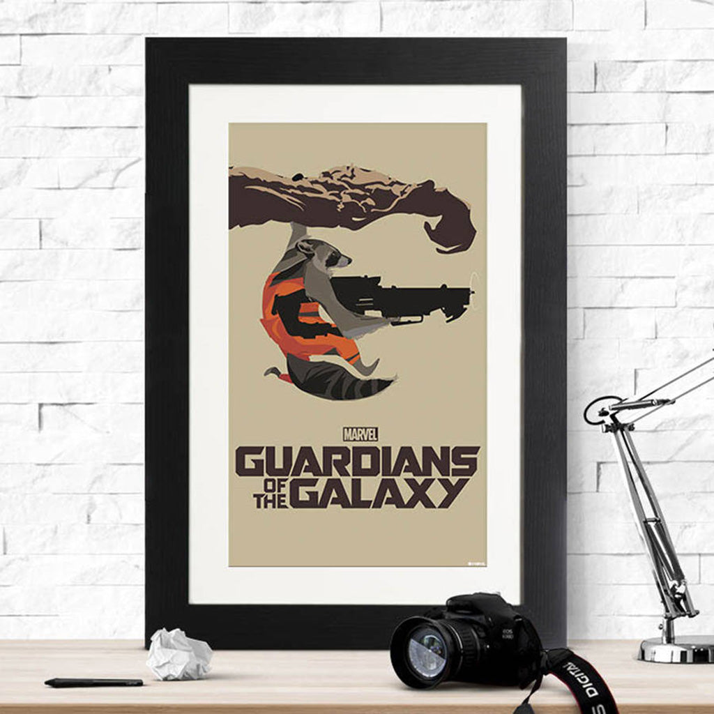 Guardians Of The Galaxy Stencil Print - Instajunction