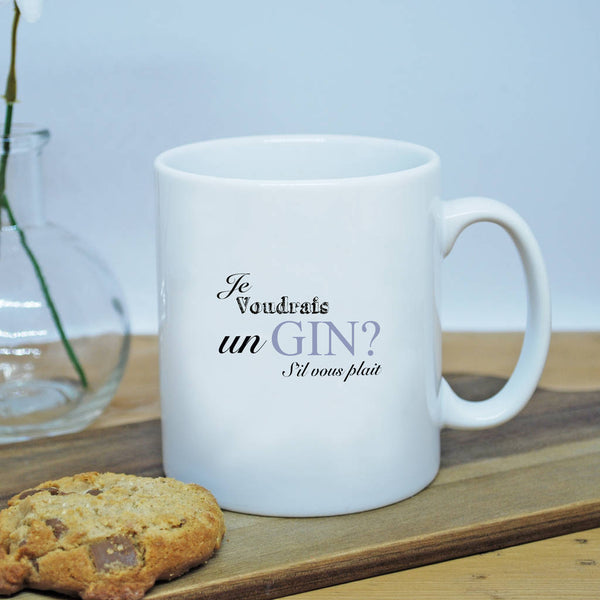 Je Voudrais Drinks Mug - Instajunction