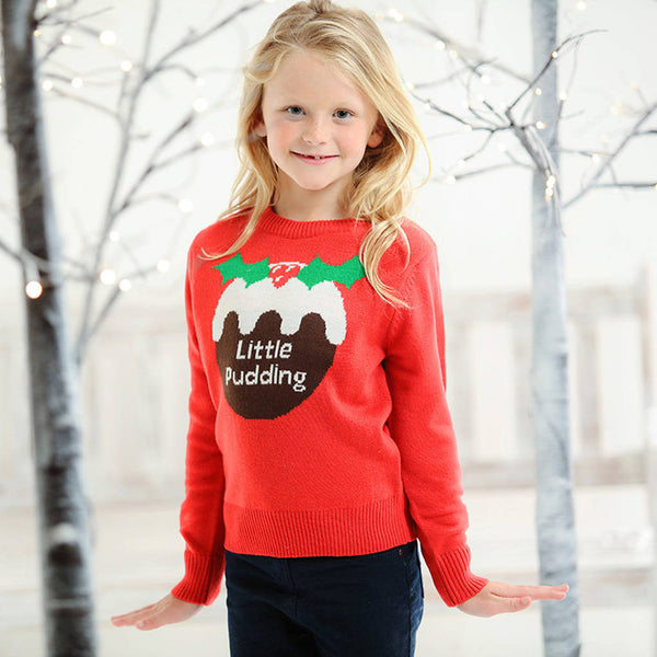 Kids Little Pudding Christmas Jumper - Instajunction