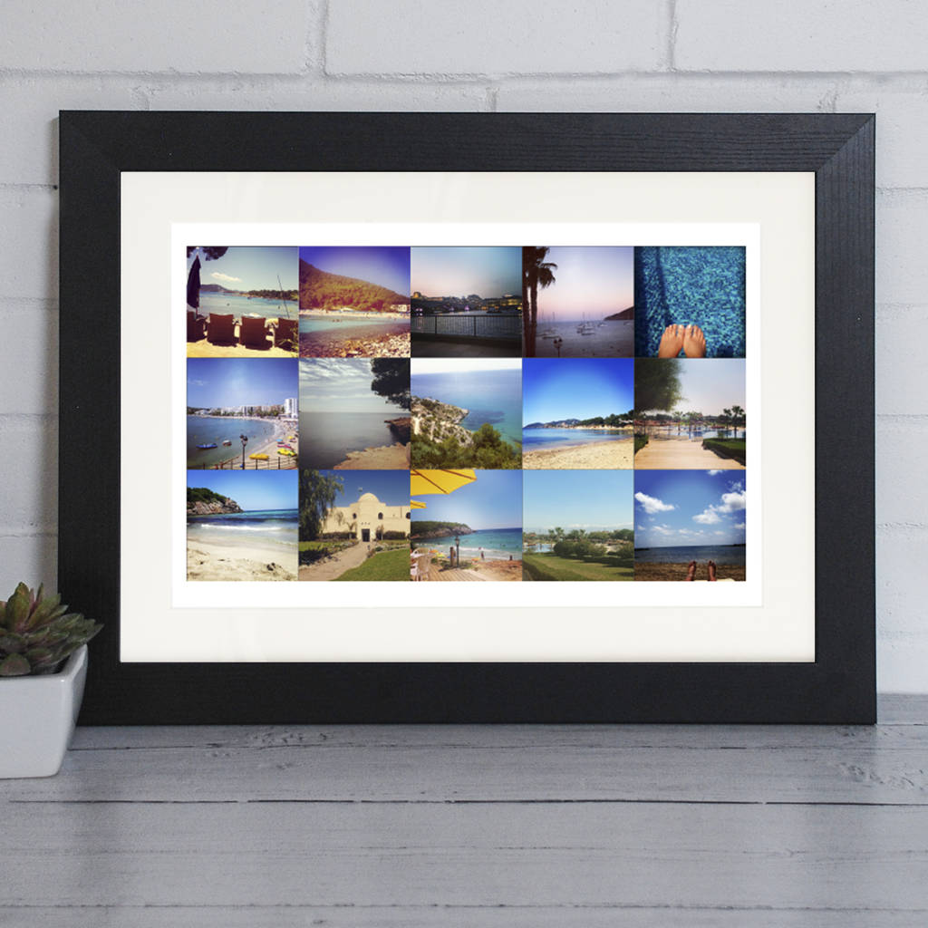 Landscape Photo Framed Print In Five Styles