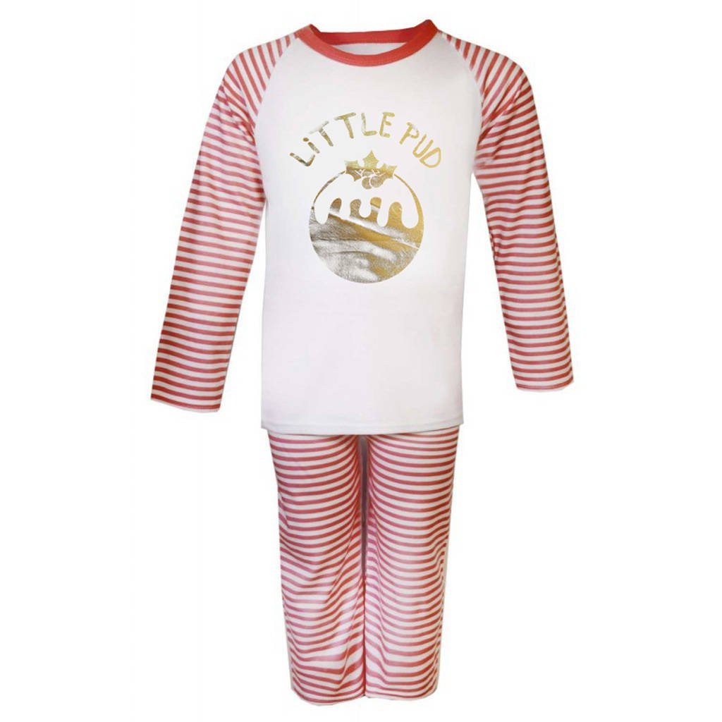Little Pud Christmas Kids Pyjama Set - Instajunction