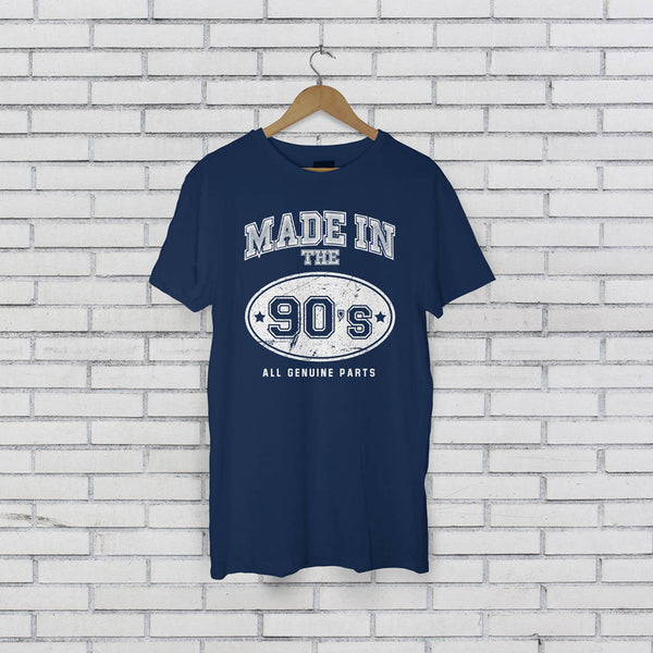 Adults Personalised Made In The Decade T-Shirt - Instajunction