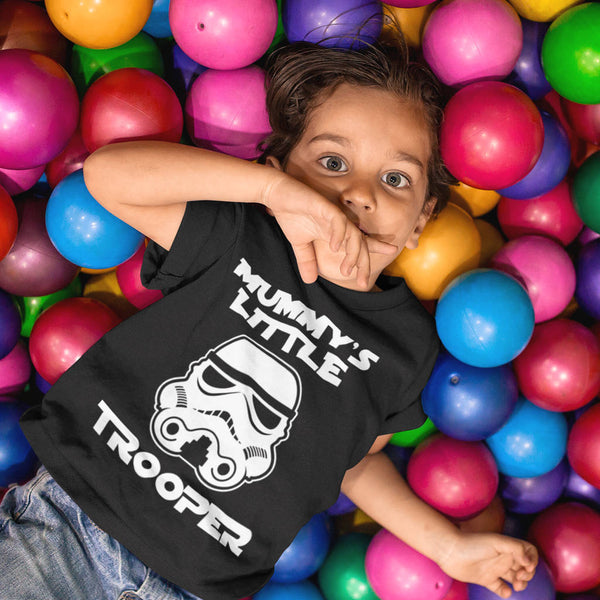 Mummy's Little Trooper Kid's T-Shirt - Instajunction