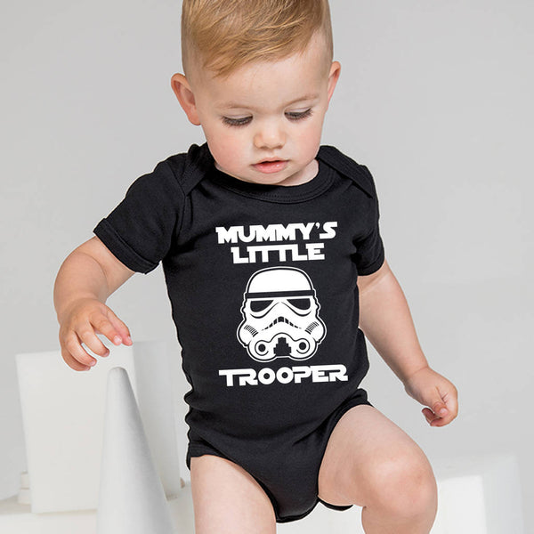 Mummy's Little Trooper Babygrow - Instajunction