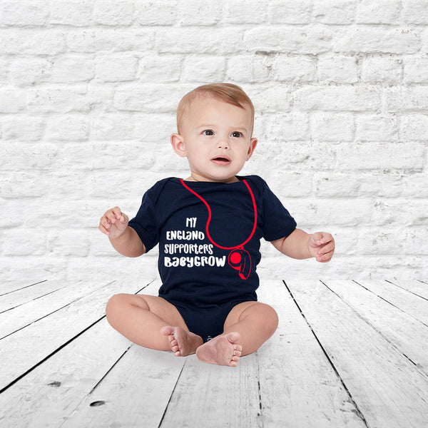 My England Supporters Babygrow - Instajunction