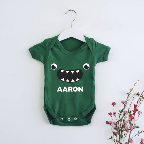 Personalised Little Monster Babygrow - Instajunction