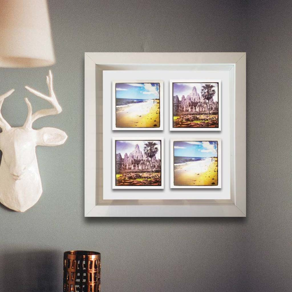 Personalised 3D Box Framed Print