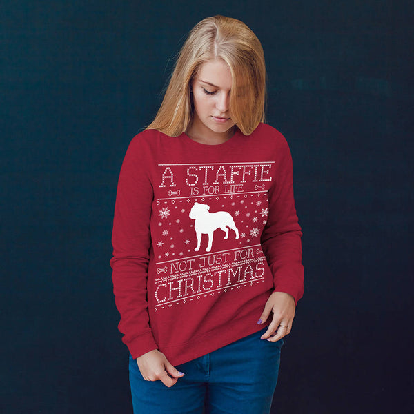Personalised A Dog Is For Life Christmas Jumper - Instajunction