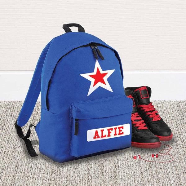Personalised Children's Star Name Rucksack