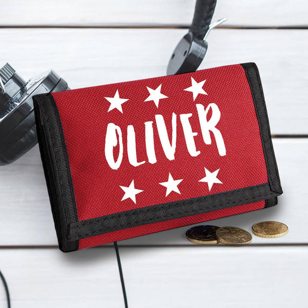 Personalised Children's Star Wallet - Instajunction