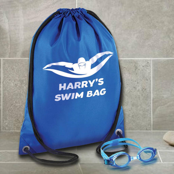 Personalised Children's Swimming Bag