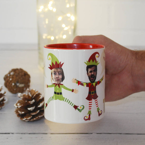 Personalised Christmas Elf Mug - Instajunction