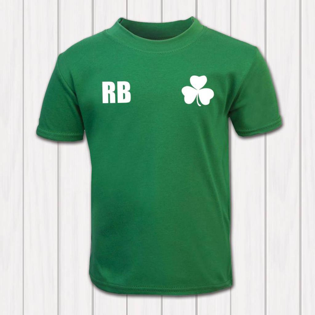 Personalised Ireland Rugby Supporters Baby And Toddler T-Shirt - Instajunction