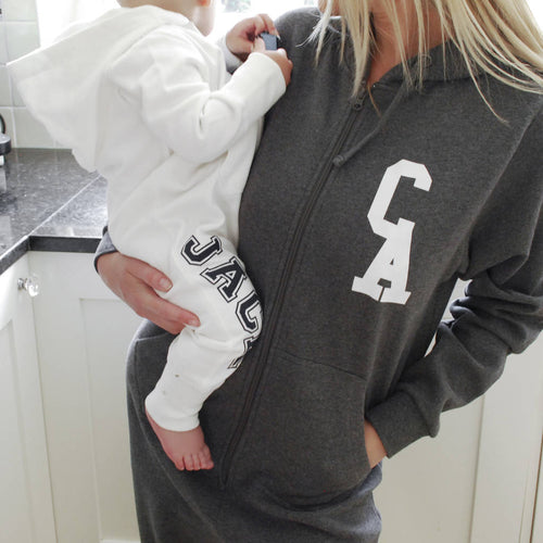Personalised Monogram Adult Onesie - Instajunction