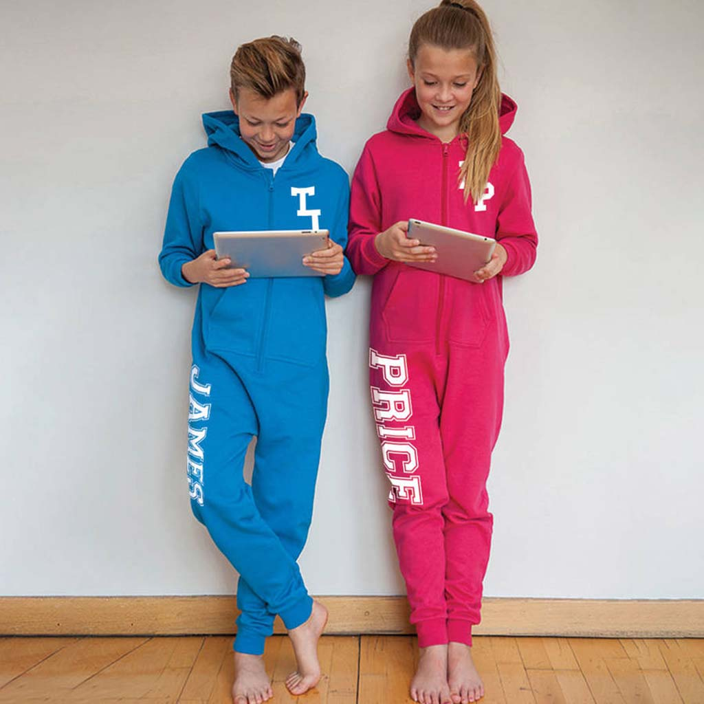 Personalised Monogram Kids Onesies - Instajunction