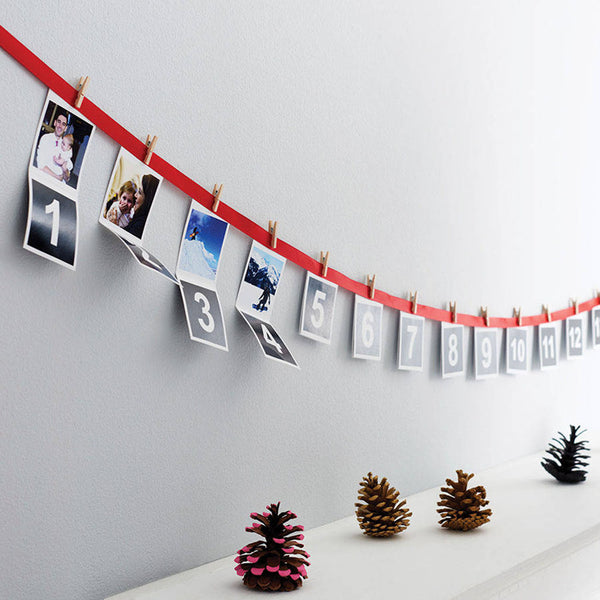 Personalised Photo Christmas Advent Calendar - Instajunction