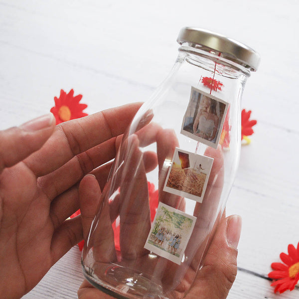 Personalised Photo Milk Bottle - Instajunction