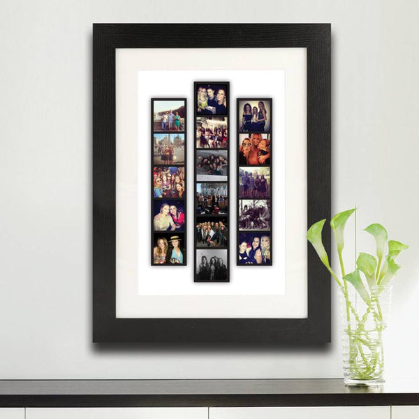 Personalised Photo Strip Frame