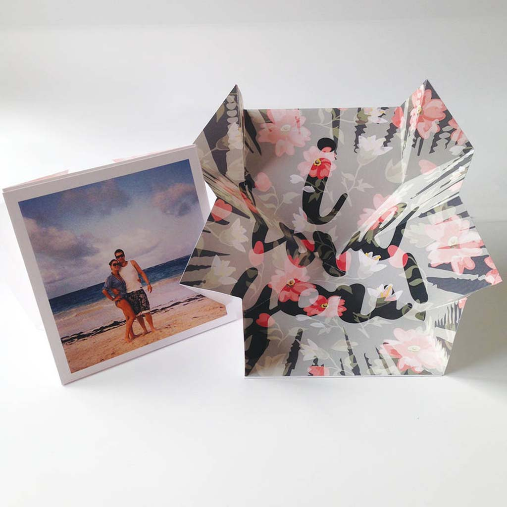 Personalised Pop Up 'Explosion' Valentine's Card - Instajunction