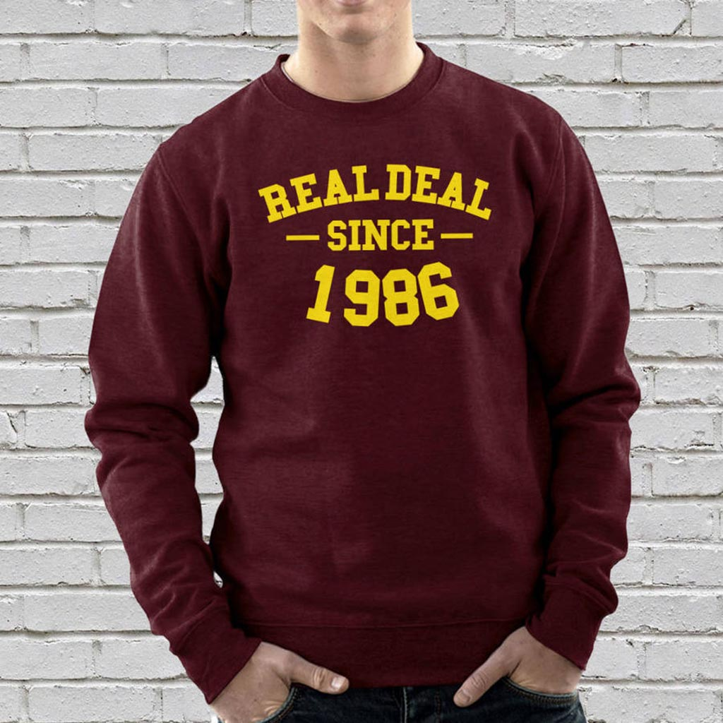 Personalised Real Deal Unisex Sweatshirt
