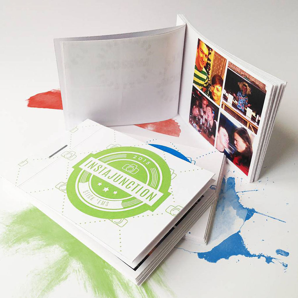 Personalised 'Stick 'Em' Photo Sticker Book