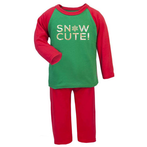 Snow Cute Kids Pyjama Set - Instajunction