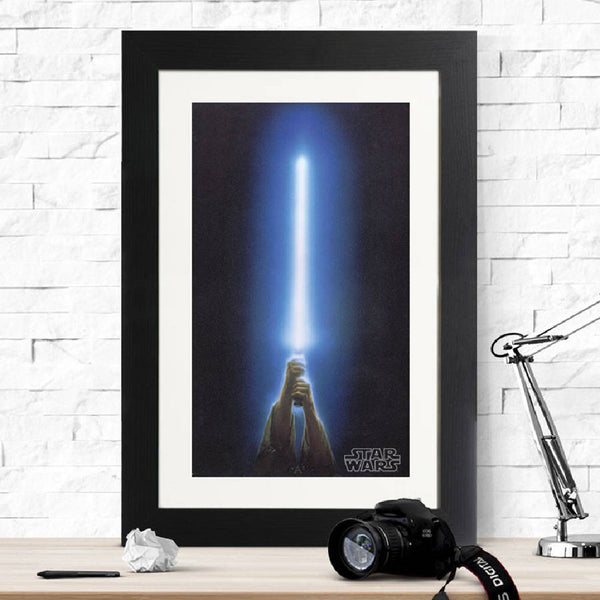 Star Wars Lightsaber Print - Instajunction