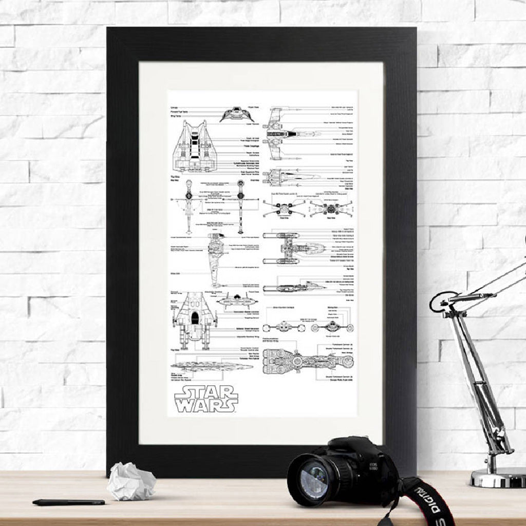 Star Wars Rebel Vehicle Blueprints - Instajunction