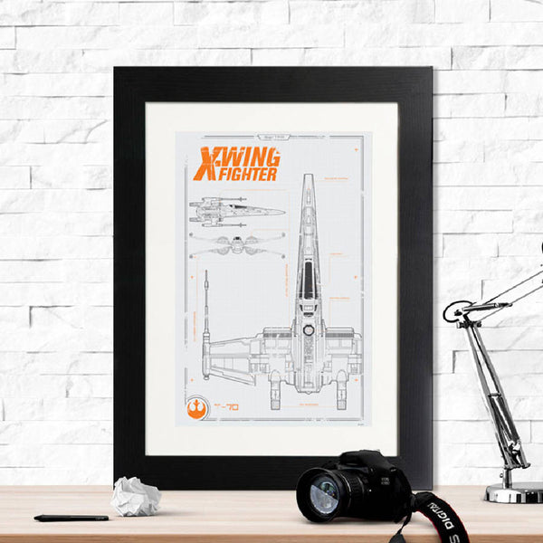 Star Wars X Wing Fighter Print - Instajunction