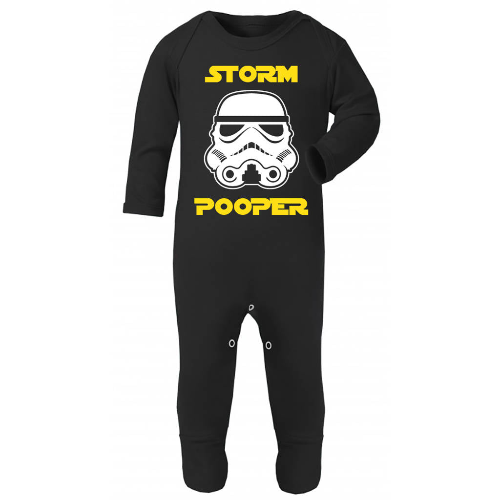 'Storm Pooper' Original Stormtrooper Baby/Toddler Rompersuit - Instajunction