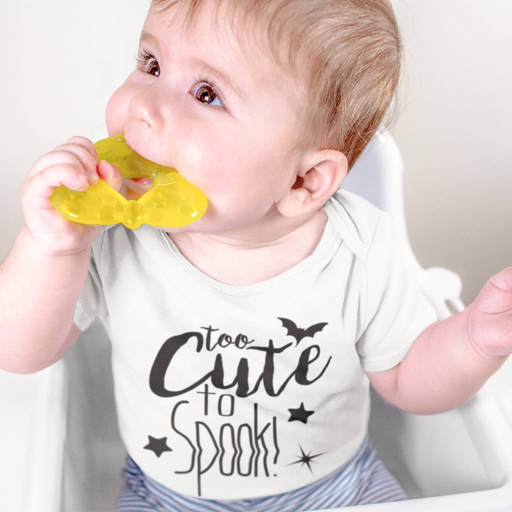 Too Cute To Spook Babygrow - Instajunction