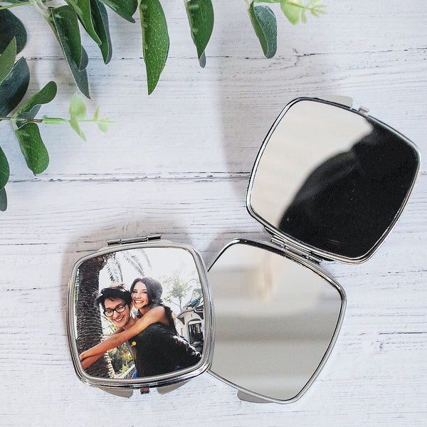 Photo Personalised Compact Mirror