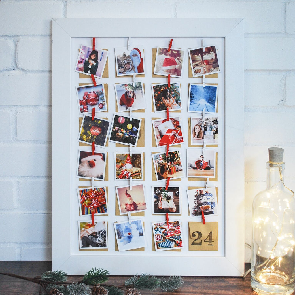 Personalised Photo Framed Advent Calendar - Instajunction