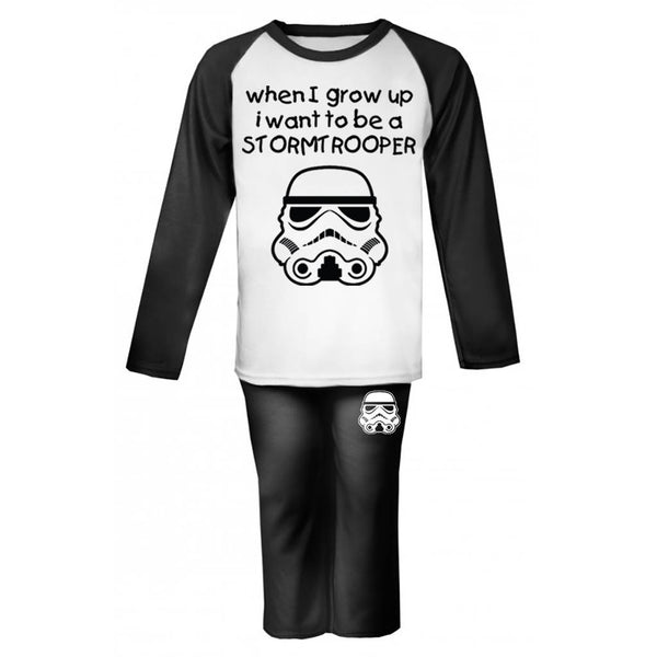 When I Grow Up... Original Stormtrooper Baby/Toddler Pyjamas - Instajunction
