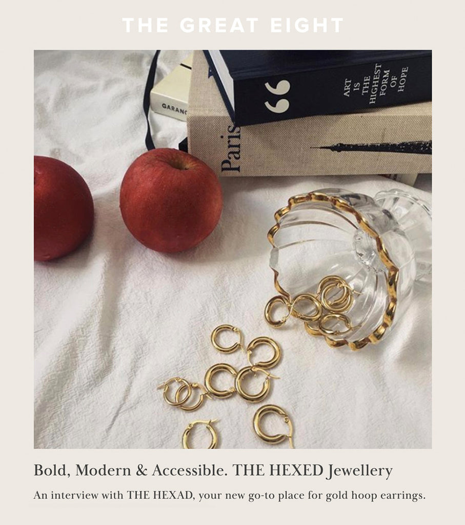 TheGreatEight - Interview with THE HEXAD Jewellery
