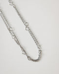Adore Chain Necklace in Silver | The Hexad