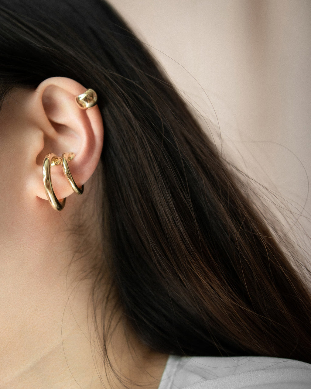 Badass statement ear cuffs for the trendsetters @thehexad
