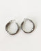 Big and Hollow Tube Hoops in Silver - The Hexad Jewelry