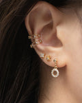 Cosmic ear cuffs for a constellation inspired stack