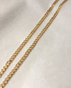 Curb chain classic link necklace in gold - The Hexad Jewelry