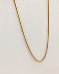 Delicate snake chain made for everyday wear - The Hexad Jewelry