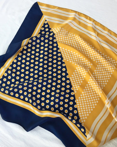 POLKA DOT Scarf in Marigold