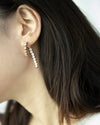 Diamond embellished earrings for luxe feminine vibes @Thehexad