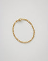 Ellipses chain bracelet in gold by The Hexad Jewelry