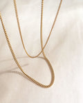 Essential delicate chains in varying lengths and thickness for layering - Basic chains by The Hexad