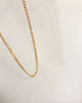 Gold curb chain - Cuba Necklace by The Hexad