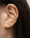 How to create a ear party with only a single piercing