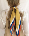 Kite Scarf Bandana in Havana Yellow - The Hexad